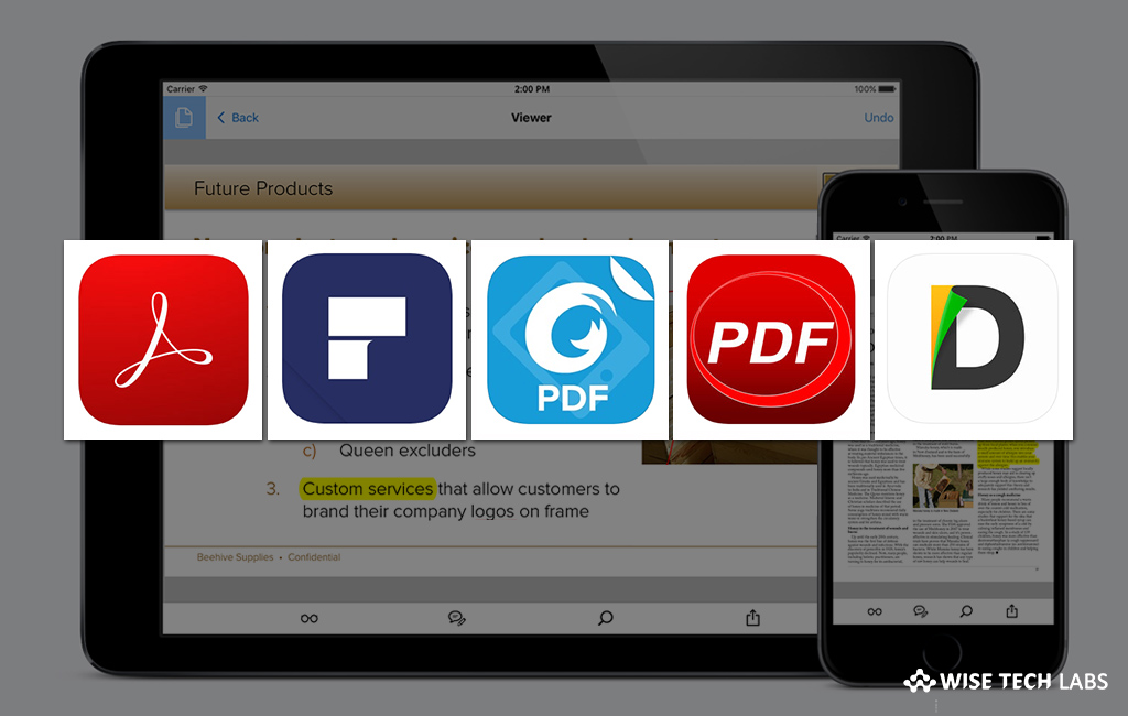 top-5-best-pdf-reader-apps-for-iphone-or-ipad-in-2019-wise-tech-labs