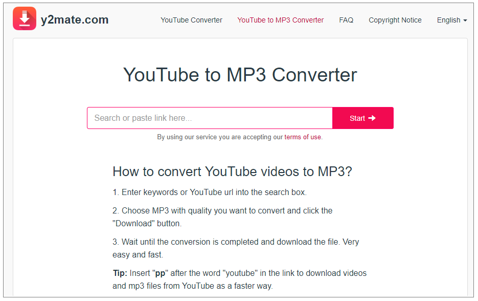 how to download youtube videos using y2mate
