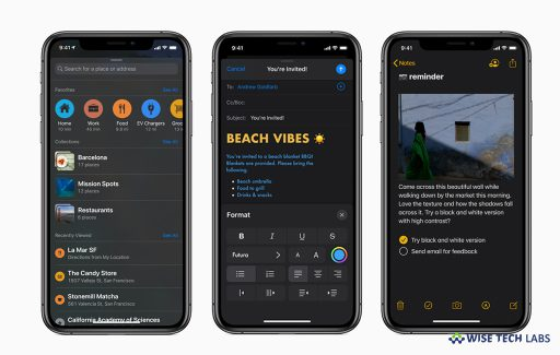 how-to-enable-dark-mode-on-ios-device-running-ios-13-wise-tech-labs