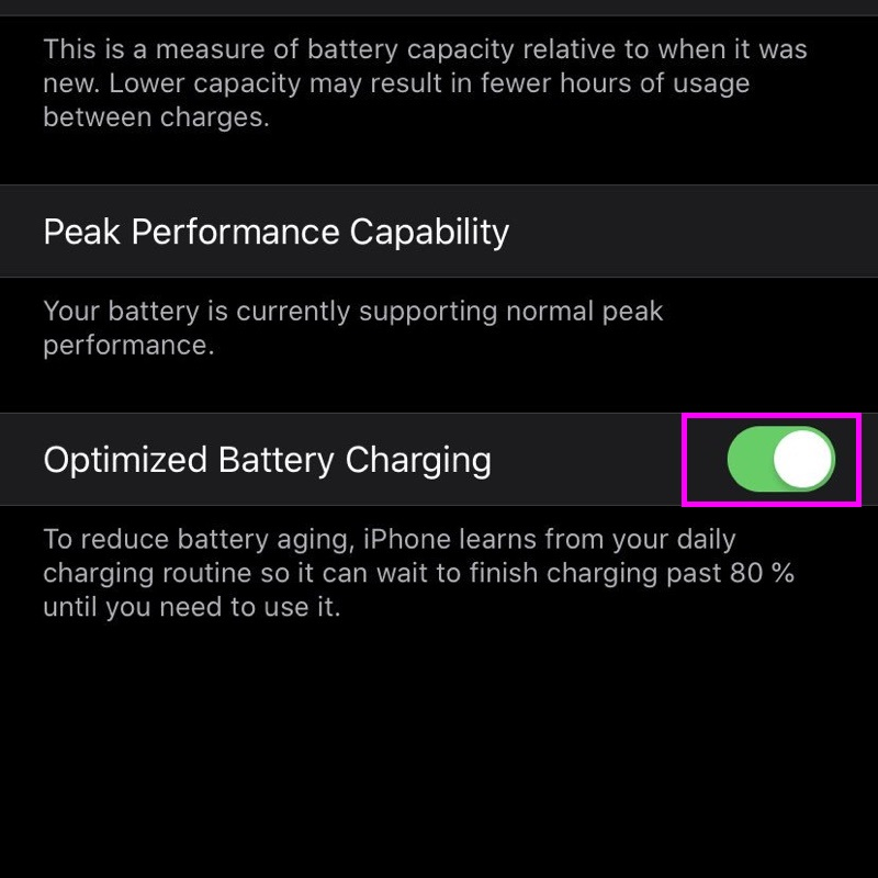 Optimized-Battery-Charging-iOS-13-wise-tech-labs
