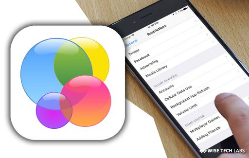 how-to-enable-restrictions-in-game-center-on-your-iphone-or-ipad-wise-tech-labs
