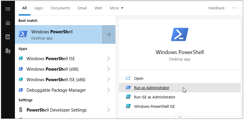 powershell-win10-wise-tech-labs