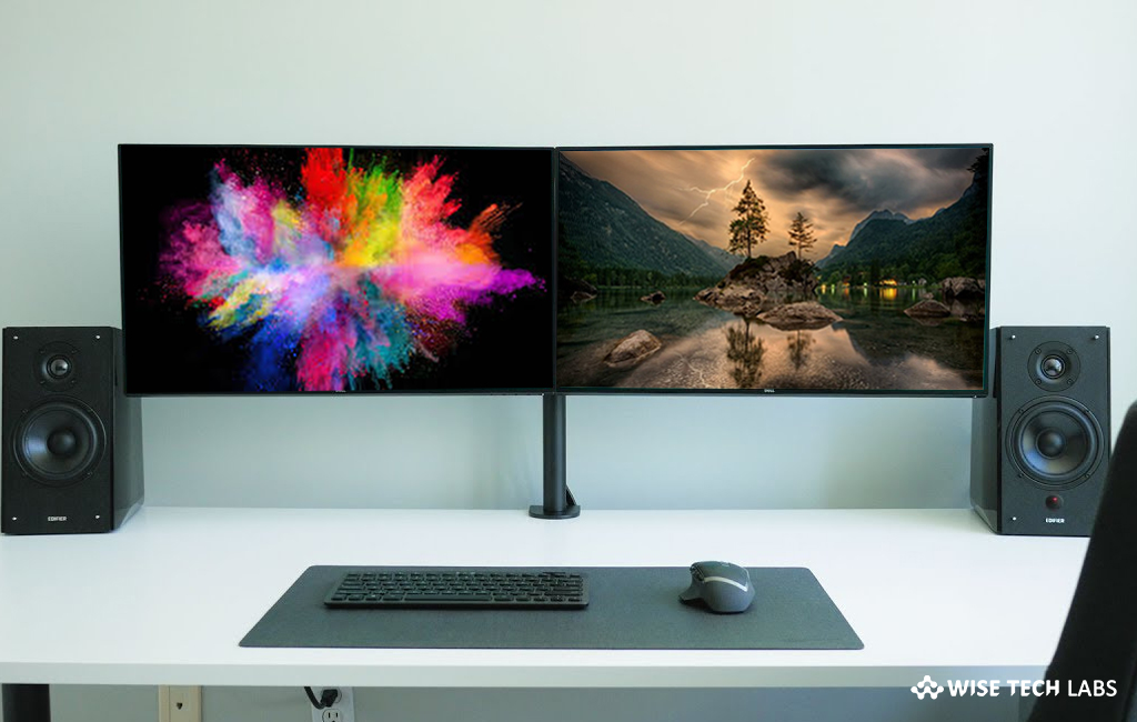 How To Set Different Wallpapers For Multiple Monitors On