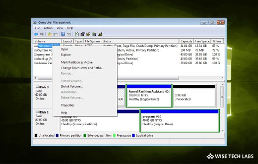 how-to-shrink-the-old-partition-to-create-a-new-temporary-partition-on-windows-10-wise-tech-labs