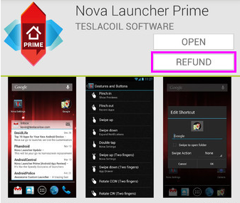 How to get refund for app purchase made on Google Play Store