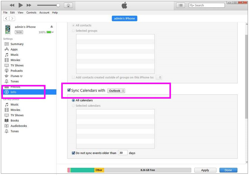 sync-calendars-itunes-wise-tech-labs